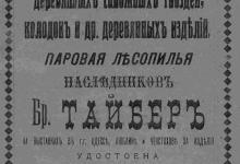 Паровая фабрика деревянных сапожных гвоздей, колодок и др. деревянных изделий